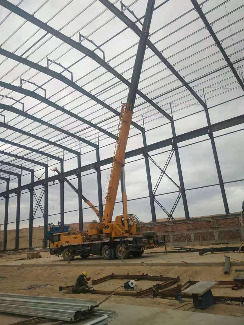 原材料钢结构厂