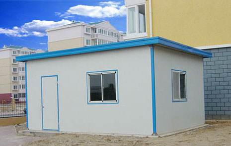 彩钢房安装施工