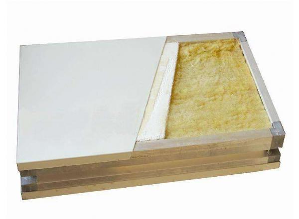 甘肃硅岩防火彩钢板