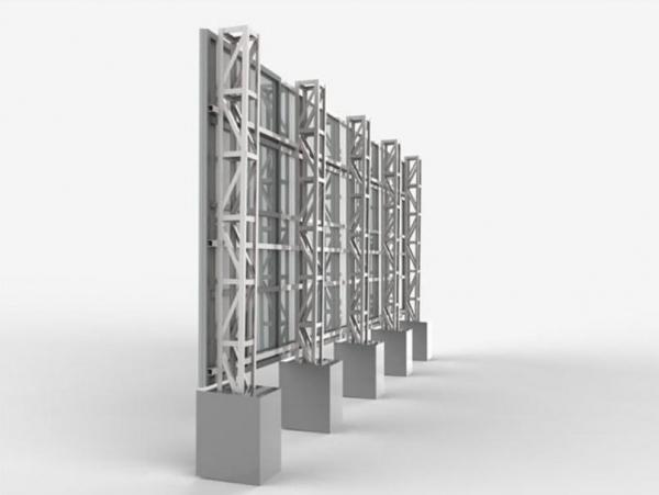 兰州格构柱钢构价格