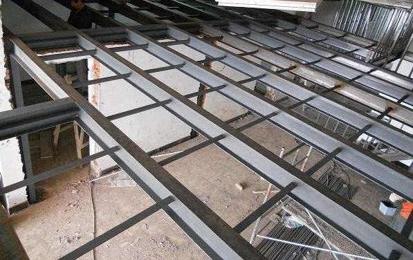 钢结构商铺隔层